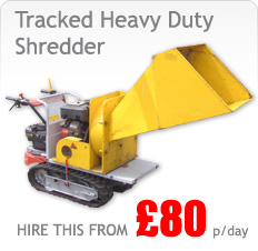 Tracked Shredder